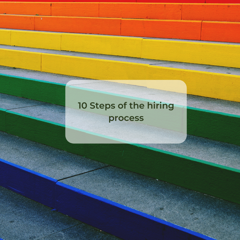 10 steps of the hiring process