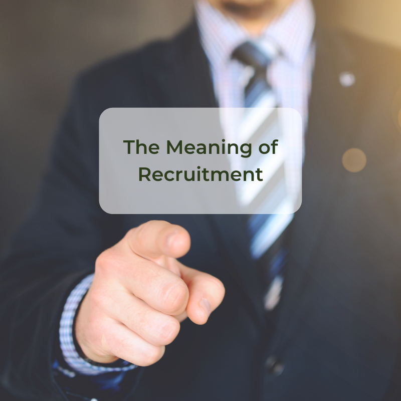 the meaning of recruitment