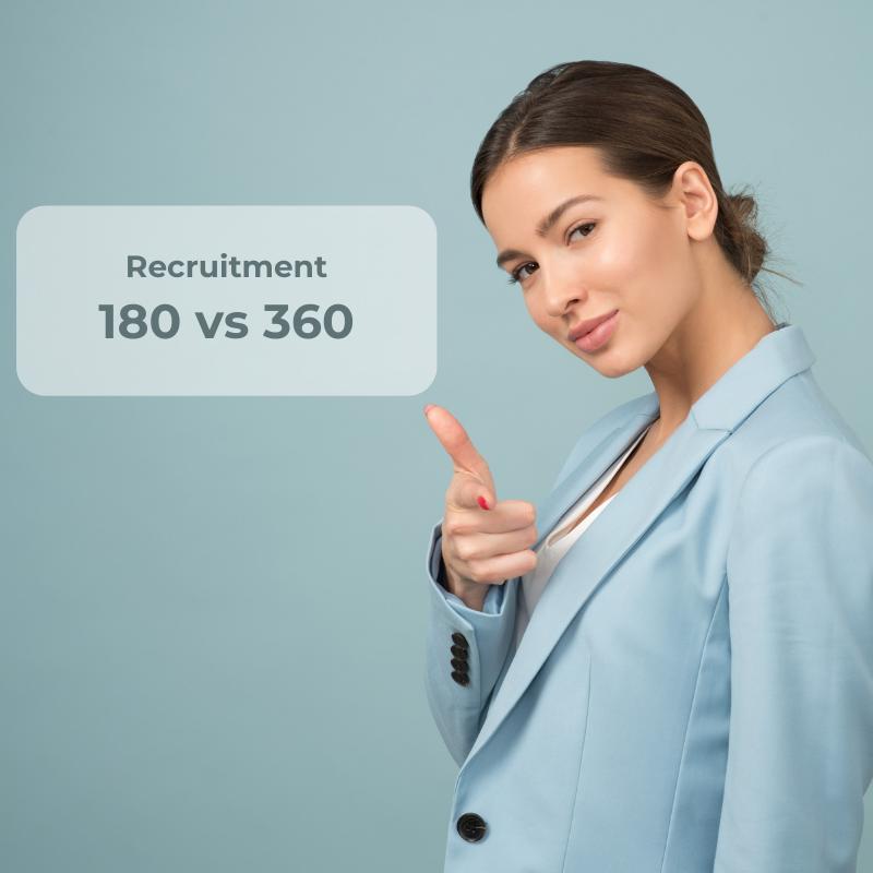 Recruitment 180 vs 360